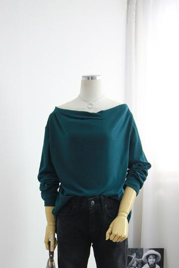 미나 어깨 셔링 셔츠 BRS1269
