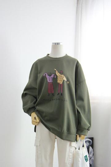 핸드사이드 티셔츠 STM1382